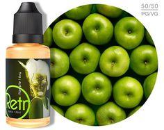Retro™ Flapple e-Juice Flapple, Sour Apple, Apple, Retro, e-liquid, nicvape…