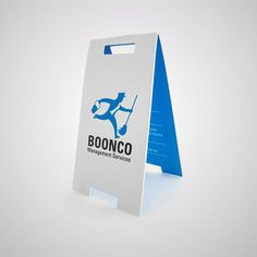 boonco folded business card