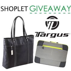 Enter for a chance to #win a ladies Targus #bag and #laptop #sleeve from Shoplet!
