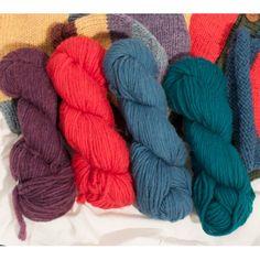 custom woolen mills - prairie wool lopi soft spun wool - skeins : new dorset wool