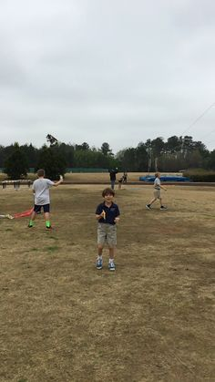 Ben at Kite Day 2015 at PCS