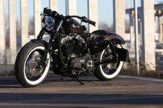 """Sportster 48 Umbau """"Brown Sugar"""" by Thunderbike"""
