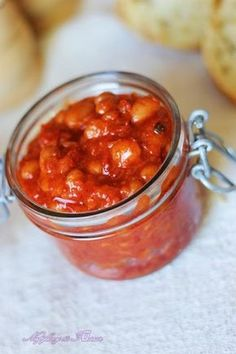 Why make one Tomato Relish, when you can have three recipes! Smoky Barbecue, Roast Capsicum and Tomato, or Herb & Garlic Tomato Relish. All delicious! Roasted Capsicum, Tomato Relish, Low Fodmap, Chutney, Pesto, Food And Drink, Gluten Free, Fish, Baking