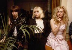 """Chrissie Hynde, Debbie Harry and Viv Albertine photographed by Chris Stein, 1978 """