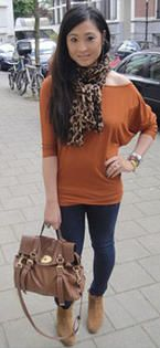 So many ways to wear a Multitop! This is Multitop Kidd in Bean Brown.
