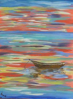 Serenity Acrylic Painting by Acrylicfun on Etsy