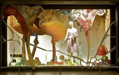 Window Display for ISETAN, a department store in Japan designed by VM   -PRZEMEK SOBOCKI