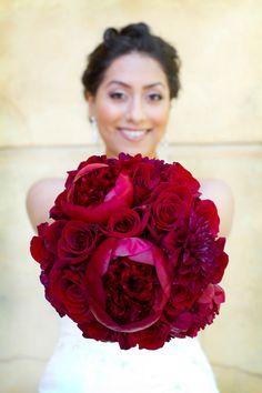 Romantic RED | Flowers by Rebekah