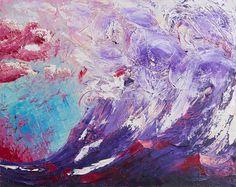 Be a wave n°2 - Olio su tela - 50×40 cm - 2013