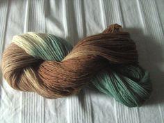 ♥ Sockenwolle 100g ♥ Schurwolle 75% (Merino) ♥ Handgefärbt ♥ Made by Aleinung ♥