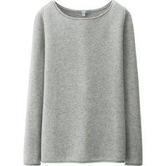 UNIQLO Women Light Cashmere Boat Neck Sweater