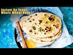 Instant Yeast Bread Recipe Elegant No Yeast Instant whole Wheat Naan Recipe Naan Bread Recipe Easy, Recipes With Naan Bread, Roti Recipe, Chapati Recipes, Ginger Bread Cookies Recipe, Vegetarian Recipes Dinner, Healthy Recipes, Greek Dishes, Instant Yeast