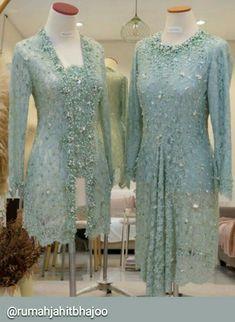 Kebaya Lace, Batik Kebaya, Kebaya Dress, Batik Dress, Kebaya Modern Hijab, Model Kebaya Modern, Kebaya Muslim, Kebaya Simple, Kebaya Wedding