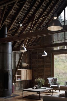 Nelleen Berlin Interior Design #Rustic #Barn #Cabin