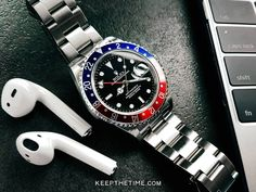 Rolex GMT Master II Pepsi Bezel Luxury Watches, Rolex Watches, Rolex Gmt Master, Beautiful Watches, Pepsi, Geek Stuff, Accessories, Geek Things