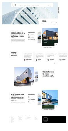 Services web design and design banners for cool effects Creative Web Design, Web Ui Design, Best Web Design, Web Design Trends, Page Design, Website Design Inspiration, Best Website Design, Real Estate Website Design, Layout Web