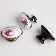 kitchen cabinet knobs ceramic tile design 232 best handles images dresser pulls drawer handle pull flower furniture knob
