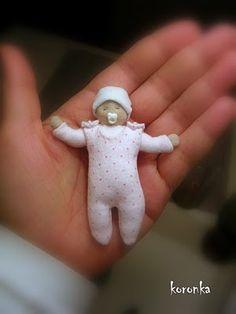 newborn Tilda doll :-) by koronka-m, via Flickr