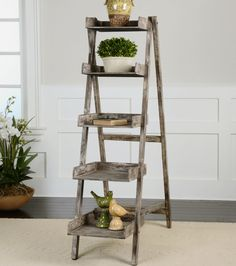 Weathered Bookcase Uttermost