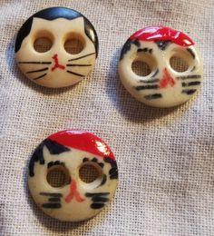 Cat Buttons / $T2eC16J,!)QE9s3HEEF8BRZrQFnhD!~~60_57
