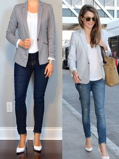 outfit post: grey jersey blazer, white shell, skinny jeans, white pumps http://outfitposts.com/2016/05/outfit-post-grey-jersey-blazer-white-shell-skinny-jeans-white-pumps.html?utm_campaign=coschedule&utm_source=pinterest&utm_medium=Outfit%20Posts&utm_content=outfit%20post%3A%20grey%20jersey%20blazer%2C%20white%20shell%2C%20skinny%20jeans%2C%20white%20pumps