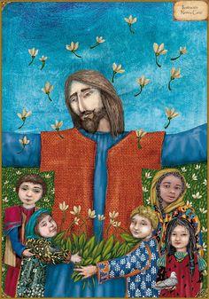 Jesús y los niños - La vida de Jesús