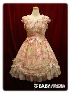 Blooming Flower ジャンパースカートBlooming Flower jumper skirt /// $269.32 AKA 24,990円 /// Length:94cm(37.00inch)   Bust:77~110cm(30.31~43.30inch)   Waist:65~98cm(25.59~38.58inch)