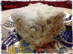 Ραφαέλ #sintagespareas Greek Sweets, Greek Desserts, Greek Recipes, No Bake Desserts, Dessert Recipes, Healthier Desserts, Greek Cake, Cupcake Cakes, Cupcakes