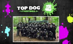 Paintballing experience for 4 people with lunch & 100 paintballs each £17. Offer ends midnight 20/02/2013