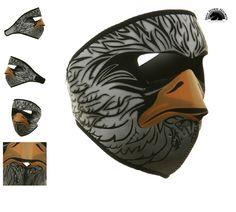 Eagle Neoprene Ski Mask http://www.ironhorsehelmets.com/Eagle_Neoprene_Face_Mask.html