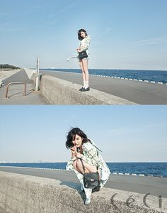 HyunA (4MINUTE) - Photoshoot magazine Céci Mai 2014 (2) - Soompi France