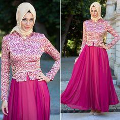 EVENING DRESS - EVENING DRESS - 2209F #hijab #naylavip #hijabi #hijabfashion #hijabstyle #hijabpress #muslimabaya #islamiccoat #scarf #fashion #turkishdress #clothing #eveningdresses #dailydresses #tunic #vest #skirt #hijabtrends