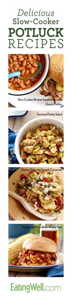 Slow-Cooker BBQ Potluck Recipes