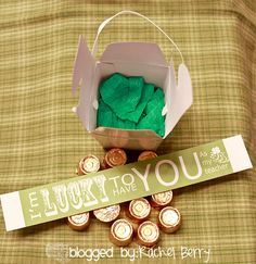 The Rachel Berry Blog: { Saint Patrick's Day Teacher Gifts }