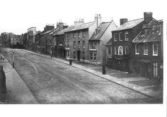 Library site c1890, Abington Street, Northampton