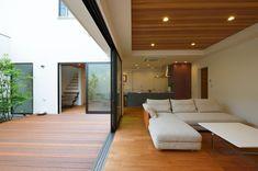 Ceiling Wood Design, Wood Ceilings, Light Architecture, Future House, Yard, Interior Design, Outdoor Decor, Room, Furniture