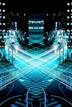 Magnificent Mirror Symmetry Long Exposures of Nighttime Japan - My Modern Metropolis