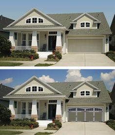 Tips for selecting the right garage door to compliment your homes style