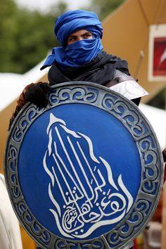 Naldar (the Air Tribe) from ConQuest of Mythodea Larp Armor, Medieval Armor, Medieval Fantasy, Arabic Characters, Fantasy Characters, High Fantasy, Fantasy World, Conquest Of Mythodea, Persian Warrior