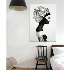 Black and White beauty. Marianna by Ruben Ireland now on Juniqe.com | Art. Everywhere.