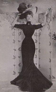 Gibson girl 1906 Edwardian fashion