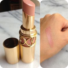 The perfect everyday shade…  YSL Rouge Volupte in #2