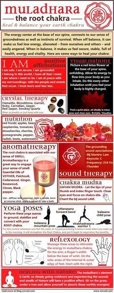 Balancing your Root - http://47yoga.com/balancing-your-root/   Balancing your Root Chakra Yoga Journal