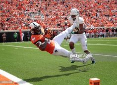News Photo : Wide receiver Jhajuan Seales of the Oklahoma...
