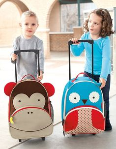On the Go with Amy: Rolling in style: SkipHop's new … Cool kids' luggage! On the Go with Amy: Rolling in style: SkipHop's new kid's luggage Cheap Luggage, Small Luggage, Luggage Sale, Cabin Luggage, Luggage Brands, Kids Rolling Luggage, Kids Luggage, Childrens Luggage, Hand Luggage