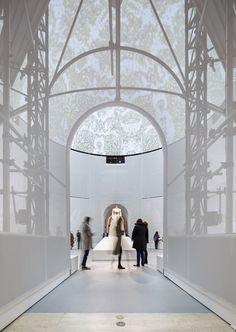 """Gallery of Preview OMA's Installation for Met Museum Exhibition """"Manus x Machina"""" - 1"""