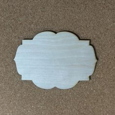 Unfinished Wood Laser Cut Decorative Plaque, Style 9, Ready to Paint, Wreath Accent, Sign Blank