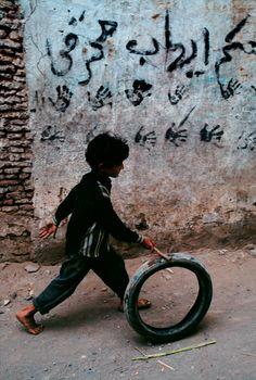 Yemen boy enjoying his amazing toy. What if this were your child?