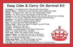 Keep Calm & Carry On Survival Kit In A Can. Humorous Novelty Fun Gift - Present & Card All In One. Birthday/Christmas/Retirement/Boss/Work Colleague/Good Luck/Leaving/Mum To Be/Dad To Be/New Baby/New Parents/Father's Day/Mother's Day/Valentine's Day/Graduation/New Home/Engagement/Wedding/New Job/Best Man/Bridesmaid/Anniversary.