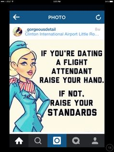 Things to know when dating flight attendant